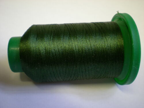ISACORD MACHINE EMBROIDERY THREAD 1000M BACKYARD GREEN 5944