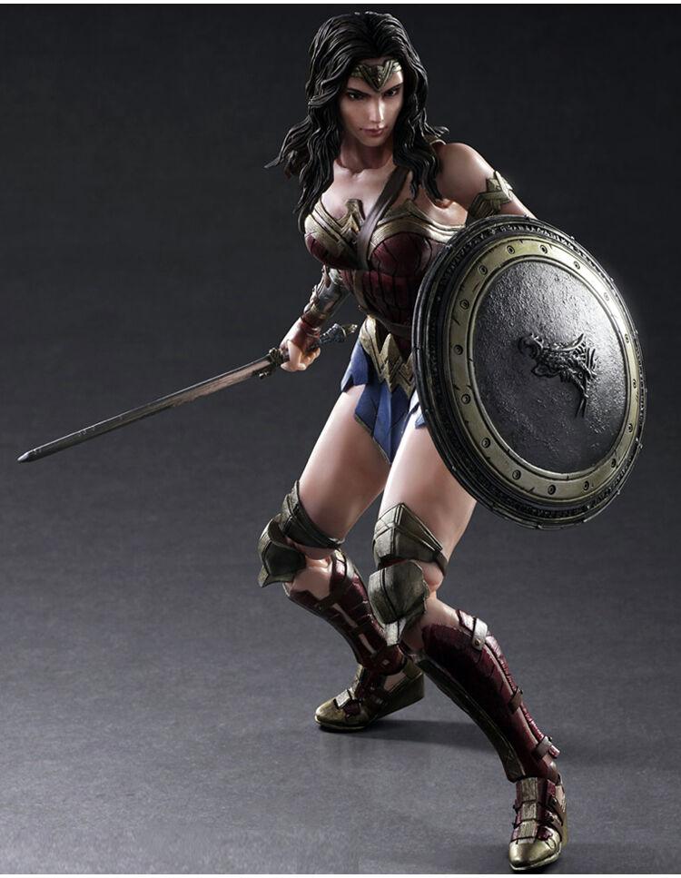 Batman Dawn v Superman Dawn Batman of Justice Wonder Woman Play Arts Kai Action Figures KO bfac4a