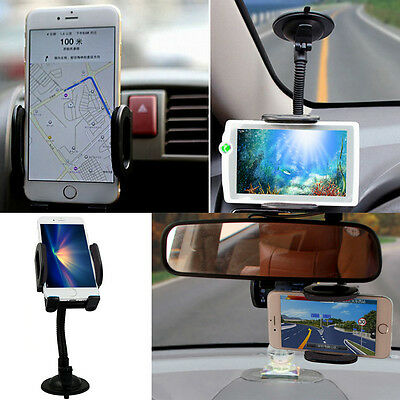 Black 2in1 KM269 Car Windshield  + Air Vent Holder Stand For Mobile Phone Sony