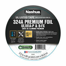 Nashua 1542698 Acrylic Based Adhesive Silver Foil Tape 60 Yd X 2 12 In