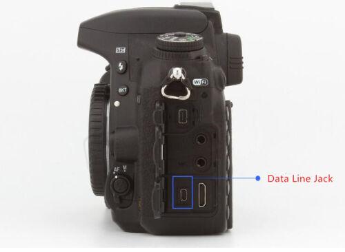 1.5 M CABLE USB 8D UC-E6 para Nikon Coolpix L110 L21 L22 S3000 S4000 S6000 S8000