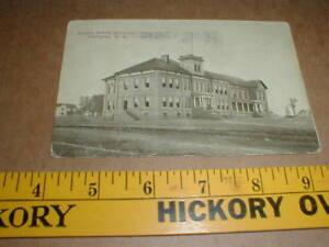 Details about 1911 graded school Lexington NC Vtg old postcard PM'd  Salisbury & Lex to Lake NC