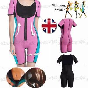 Neoprene Ultra Arms Full Body Shaper Sauna Sweat Suit SPA//Running Sport Running
