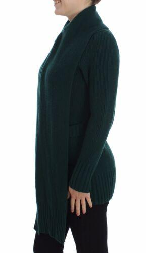 Strikket 8058696867201 Gabbana S Sweater Cashmere 2600 Grøn NU Cardigan It40 Us6 Dolce qSAgwx40pP