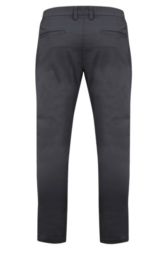 Mens Stretch Chino Trousers Skinny Slim Fit Casual Jeans Stallion Designer Pant