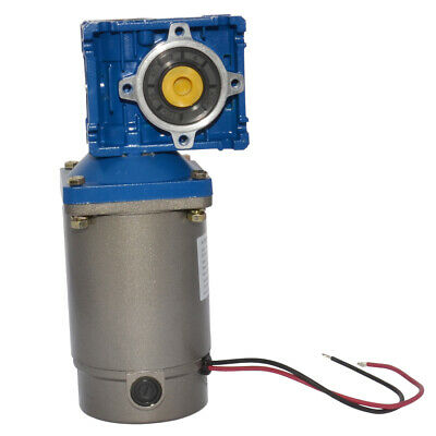 DC 90V Worm Geared Reducer Electric Motor Large High Power 250W Speed Optional
