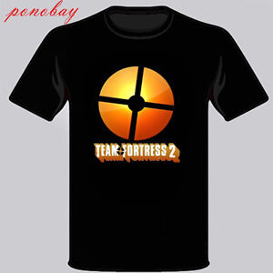 New Team Fortress 2 Famous Online Game Men's Black T-Shirt Size S to 3XL | eBay