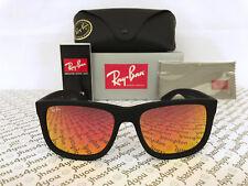 c02d147d5ef item 1 Ray-Ban Justin RB4165 622 6Q Wayfarer Sunglasses Matte Black Red  Mirror 54-16mm -Ray-Ban Justin RB4165 622 6Q Wayfarer Sunglasses Matte  Black Red ...