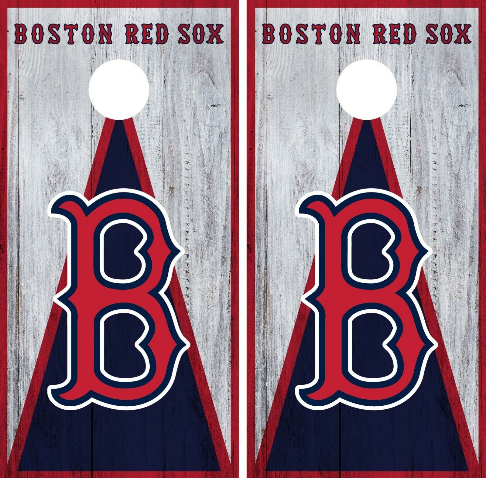 Boston Red Sox Cornhole Wrap MLB Game Board Skin Set Vinyl Decal CO375