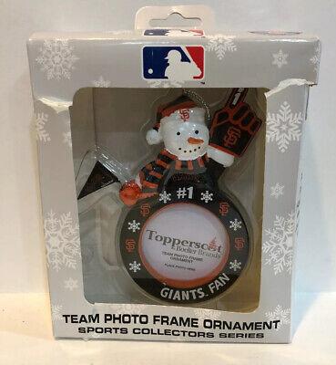 San Francisco Giants Team Photo Frame Christmas Ornament ...