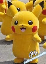 Brand Halloween Party Pokemon Go Cosplay game Pikachu Adult Mascot Costume New
