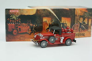 Matchbox-Yesteryear-Fire-Engine-Pompiers-1-43-Ford-Model-A-Fire-Chief-1930