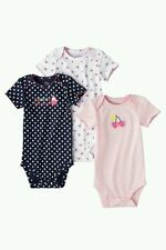 AUTH.BNWT CARTERS BABY GIRL'S 3 PACK BODYSUITS 'SWEET LIKE AUNTIE' ( 18 MOS.)