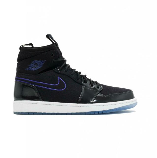 newest 3b093 c2b2c Mens NIKE AIR JORDAN 1 RETRO ULTRA HIGH Back Trainers 844700 002