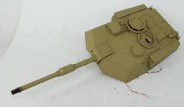 Henglong 1/16 4th 5.3 2.4Ghz M1A2 ABRAMS CARRO ARMATO RC 3918 unità della torretta con BB