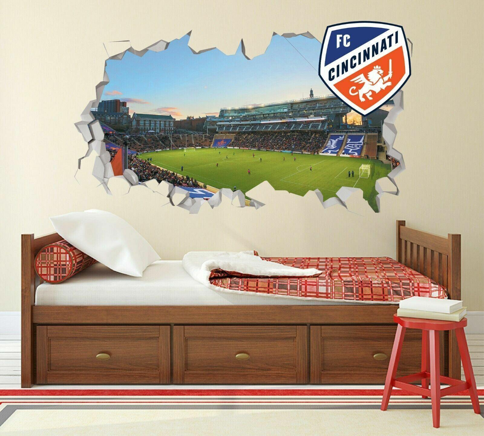 Colorado Rapids Stadium MLS Custom Wall Decals 3D Wall Stickers Art JS1701