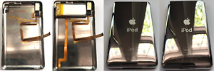 80GB-160GB-Headphone-Jack-Metal-Back-Bottom-Battery-iPod-Classic-6th-7th-iFlash