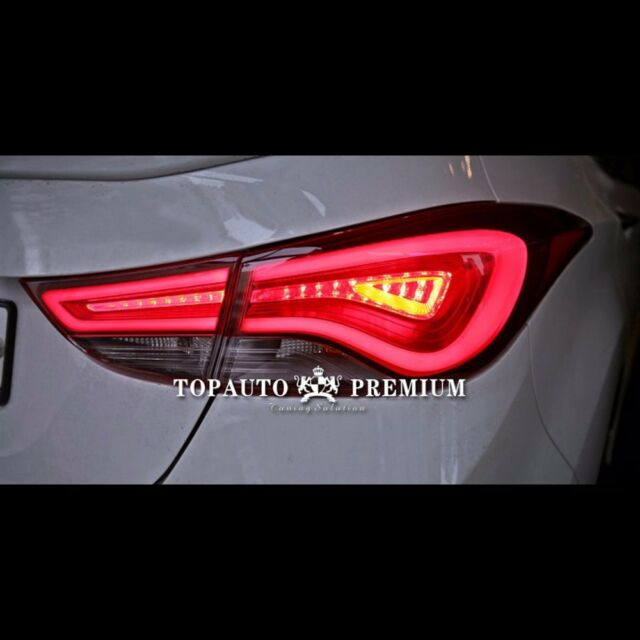 LED  Genuine Style Tail Lights Rear Lamps For Hyundai Elantra 2011~2015