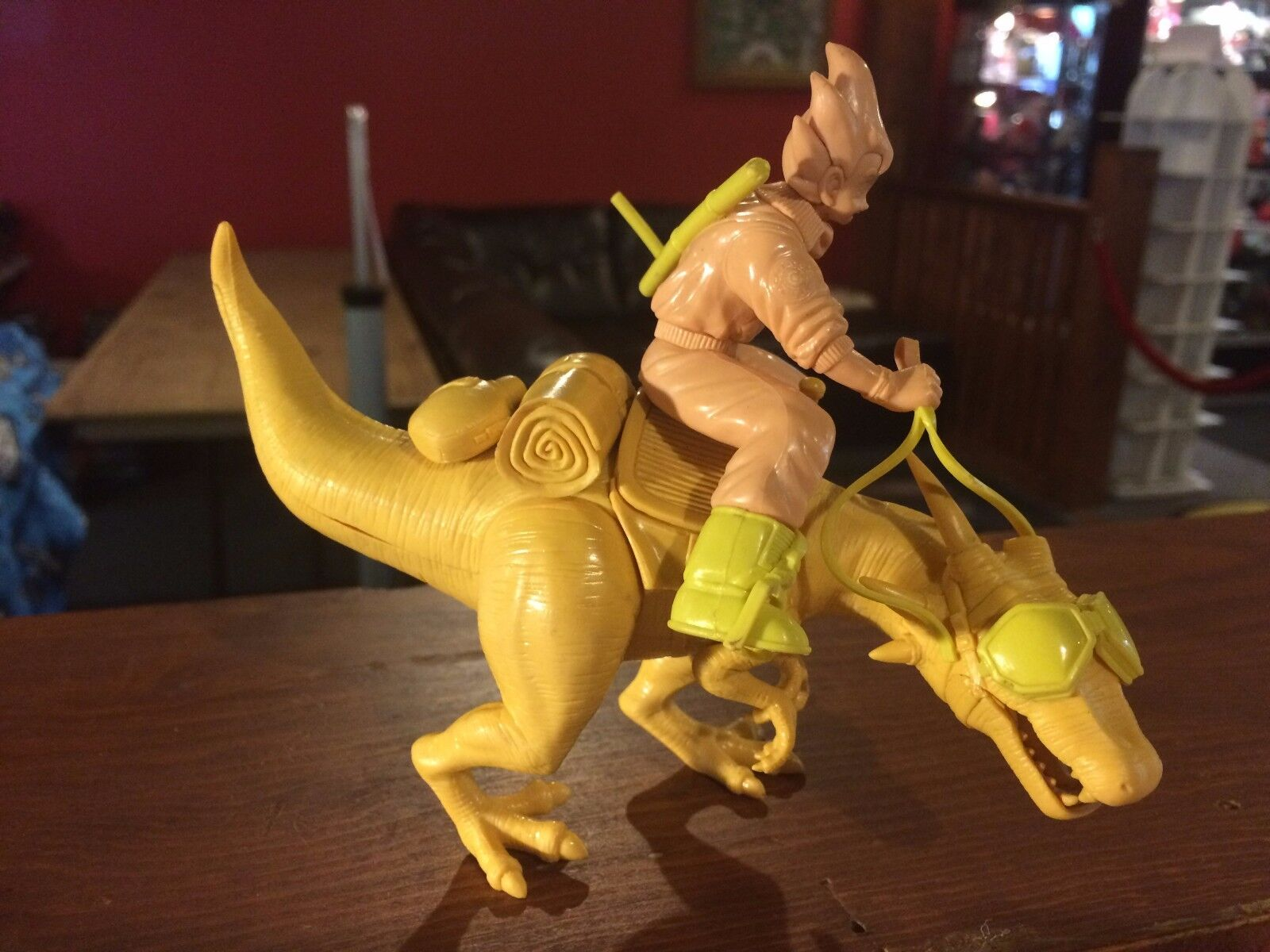 Prototype Test Shot Figure Dragon Ball Z Riding Scene 1999 GOKU BANPRESTO  X85