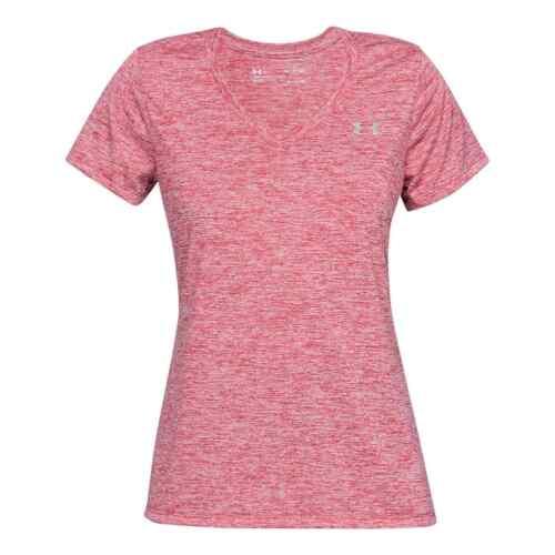Femme Under Armour Tech Twist à manches courtes T shirt performance NEUF