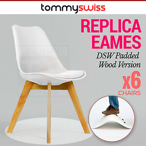 Image Is Loading 6 X Padded Retro Replica Eames Eiffel DSW