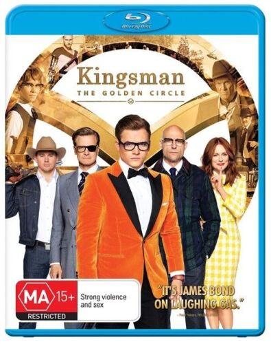 1 of 1 - The Kingsman - Golden Circle (Blu-ray, 2017), NEW SEALED AUSTRALIAN