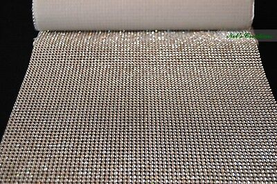 1 Meter Silver and Gold Crystal Rhinestone Mat Trims,1 2 and 4 Rows Craft Cake