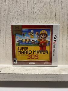Super Mario Maker - Nintendo Selects (Nintendo 3DS, 2016) - New / Factory Sealed