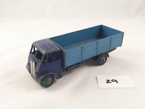 Beau Vintage Dinky Toys # 511 Guy 4 tonnes Camion Camion Camion Diecast Original Bleu 1949
