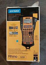 Dymo Rhino 5200 Industrial Pro Handheld Advanced Labeling Tool Thermal Printer
