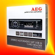 AEG AR 4027 USB SD MP3 AUTORADIO PLL-TUNER RDS AUX Kartenleser Senderspeicher