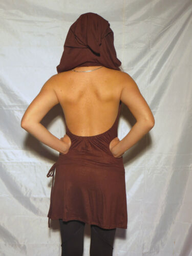 Baba Cool Hippie Fashion Robe Crista Choco PsyTrance Clothing