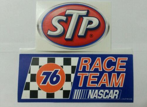 76 FUEL STP  RACING STICKERS  NASCAR TOOLBOX GARAGE