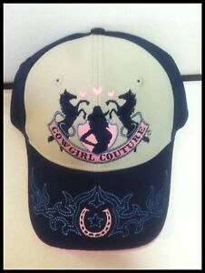 Cowgirl-Couture-Baseball-Cap-New-with-Tags