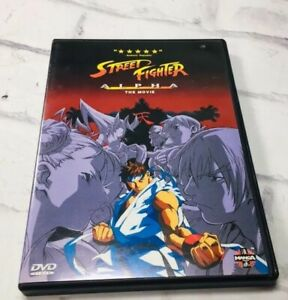 Details About Street Fighter Alpha The Movie Dvd Manga Video Ken Ryu Anime Animated
