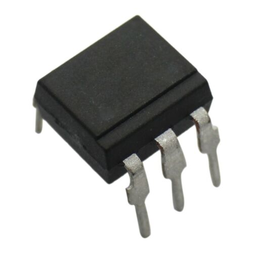 4x 4N33 Optokoppler THT Kanäle 1 Aus Transistor UIsol 2,5kV Uce 30V VISHAY