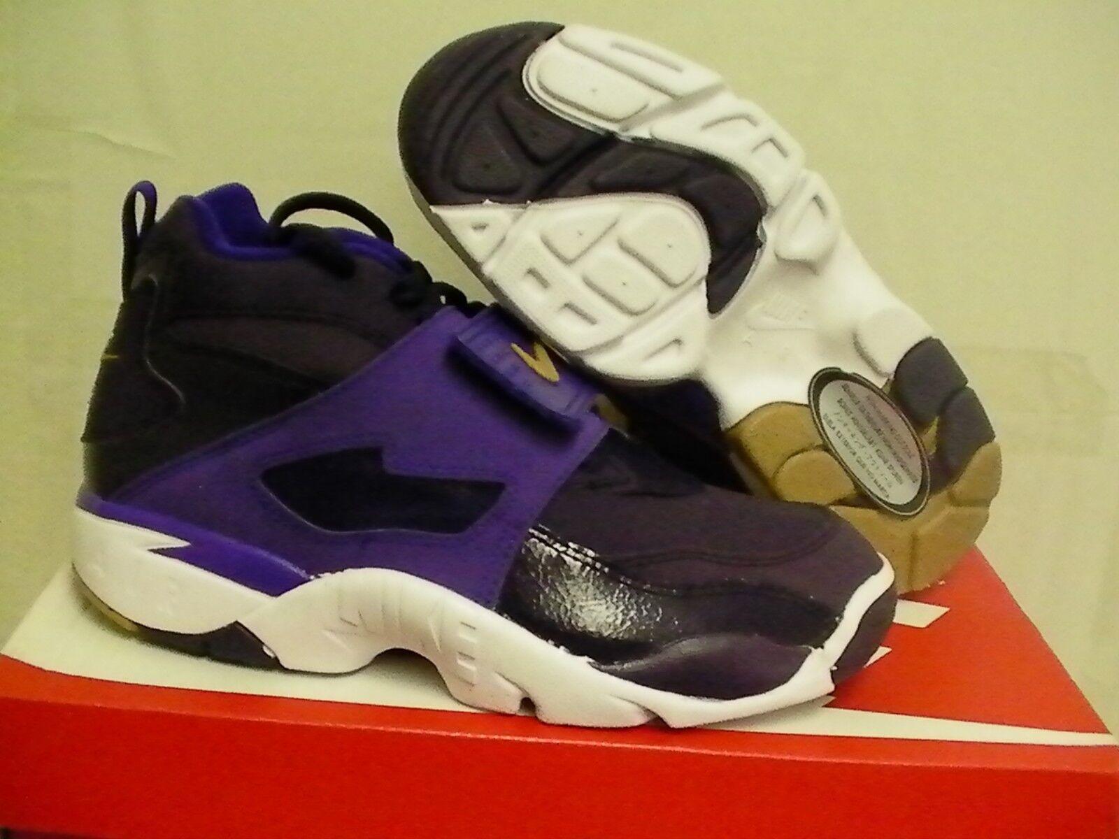 Nike air diamond turf 2 09 (GS) size 5 Youth purple
