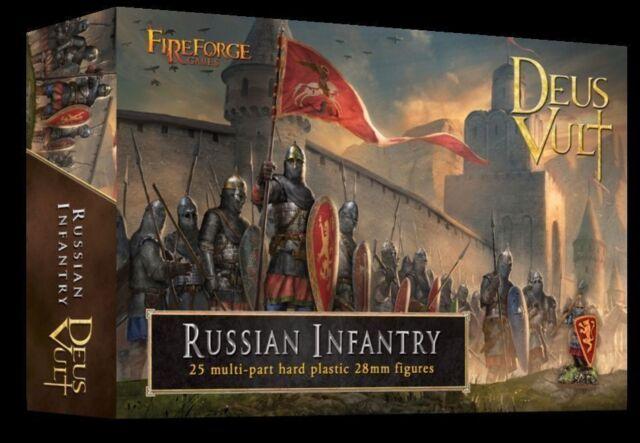 Fireforge Games - Deus Vult - Russian Infantry - 28mm