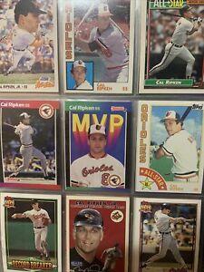 "Cal Ripken Jr  HOF 11 Card Lot Baltimore Orioles ""IRON MAN"""