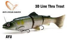 Savage Gear 3D Line Thru Trout 20cm 98g Moderate Sinking Schleppköder Zander