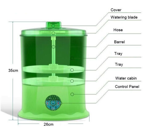 Bean Sprouting Automatic Machine Easy to use Excellent Sprouts