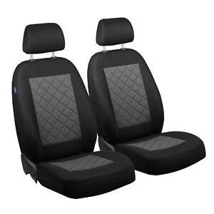 schwarz graue housses de si ge pour audi a8 housse de si ge de voiture devant ebay. Black Bedroom Furniture Sets. Home Design Ideas