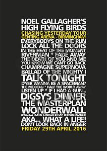 Canvas-Noel-Gallagher-s-High-Flying-Birds-Birmingham-29th-April-2016-Set-List