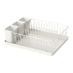 Ikea Stainless Steel Dish Rack Drainer Cutlery Drying