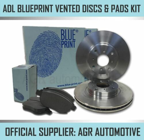 BLUEPRINT FRONT DISCS AND PADS 296mm FOR NISSAN QASHQAI 2.0 2006-14