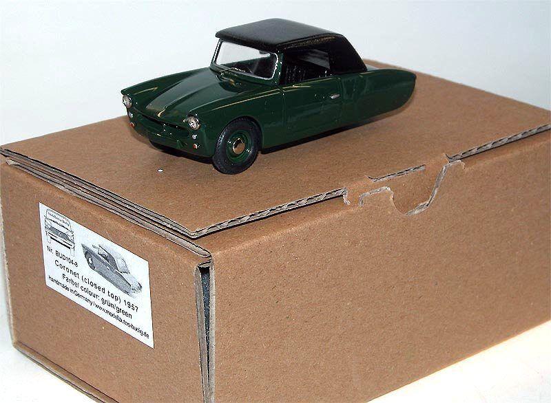 Coronet CARS Ltd., 3-Wheeler MICROCAR, 1957, RHD, closed Top, resina made,