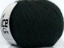 Peru Alpaca Light DK Yarn #38142 Dark Green Ice 50gr 191yds Alpaca, Merino Wool