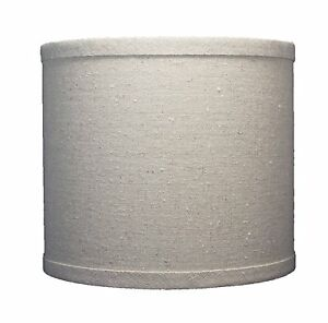 urbanest linen drum lamp shade 8 inch x 8 inch x 7 inch natural spider. Black Bedroom Furniture Sets. Home Design Ideas