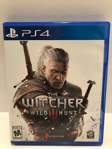 The Witcher III 3 Wild Hunt (Sony PlayStation 4, PS4, 2015)