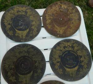 VINTAGE-Antique-19th-Century-12-Rare-Monopol-German-Music-Box-Discs